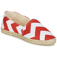 Shoes Women Espadrilles Maiett NOUVELLE VAGUE Red / White