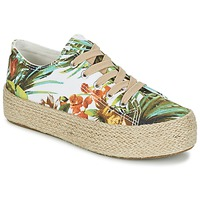 Shoes Women Low top trainers Wildflower EGINA Green / Tropical