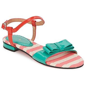 Shoes Women Sandals Edith & Ella DORAEN TURQUOISE