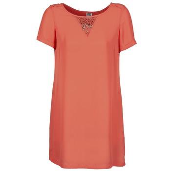 material Women Short Dresses Vero Moda TRIPPA CORAL