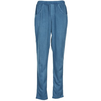 material Women Wide leg / Harem trousers Vero Moda AMINA Blue
