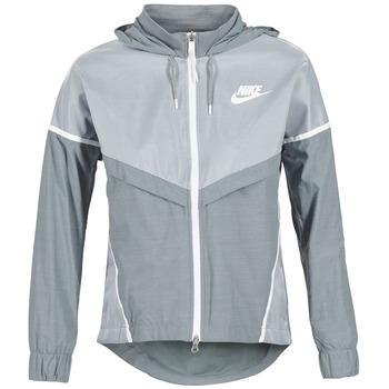 material Women Macs Nike TECH WINDRUNNER Grey