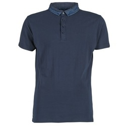 material Men short-sleeved polo shirts Deeluxe AGAINER Marine