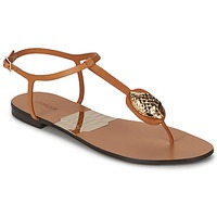 Shoes Women Flip flops Roberto Cavalli XPX243-PZ220 Brown