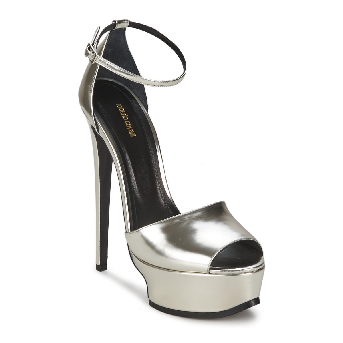 Sandals Roberto Cavalli XPS260-PZ048 Grey / Silver