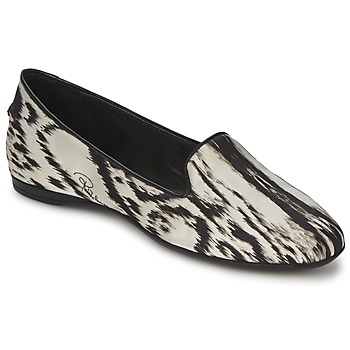 Shoes Women Ballerinas Roberto Cavalli XPS280-FLA35 BEIGE / Black