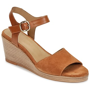 Shoes Women Sandals n.d.c. LAS SALINAS Cognac