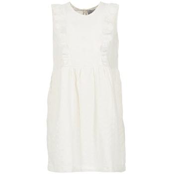 material Women Short Dresses Compania Fantastica HETRE ECRU