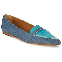 Shoes Women Ballerinas Castaner KATY Blue / Jean