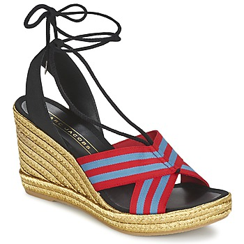 Shoes Women Sandals Marc Jacobs DANI Blue / Red