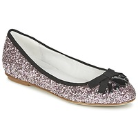 Shoes Women Ballerinas Café Noir BOLERA GLITTER /  BLACK