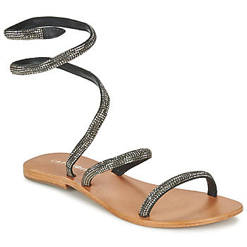 Shoes Women Sandals Café Noir CAMPIBALO Grey