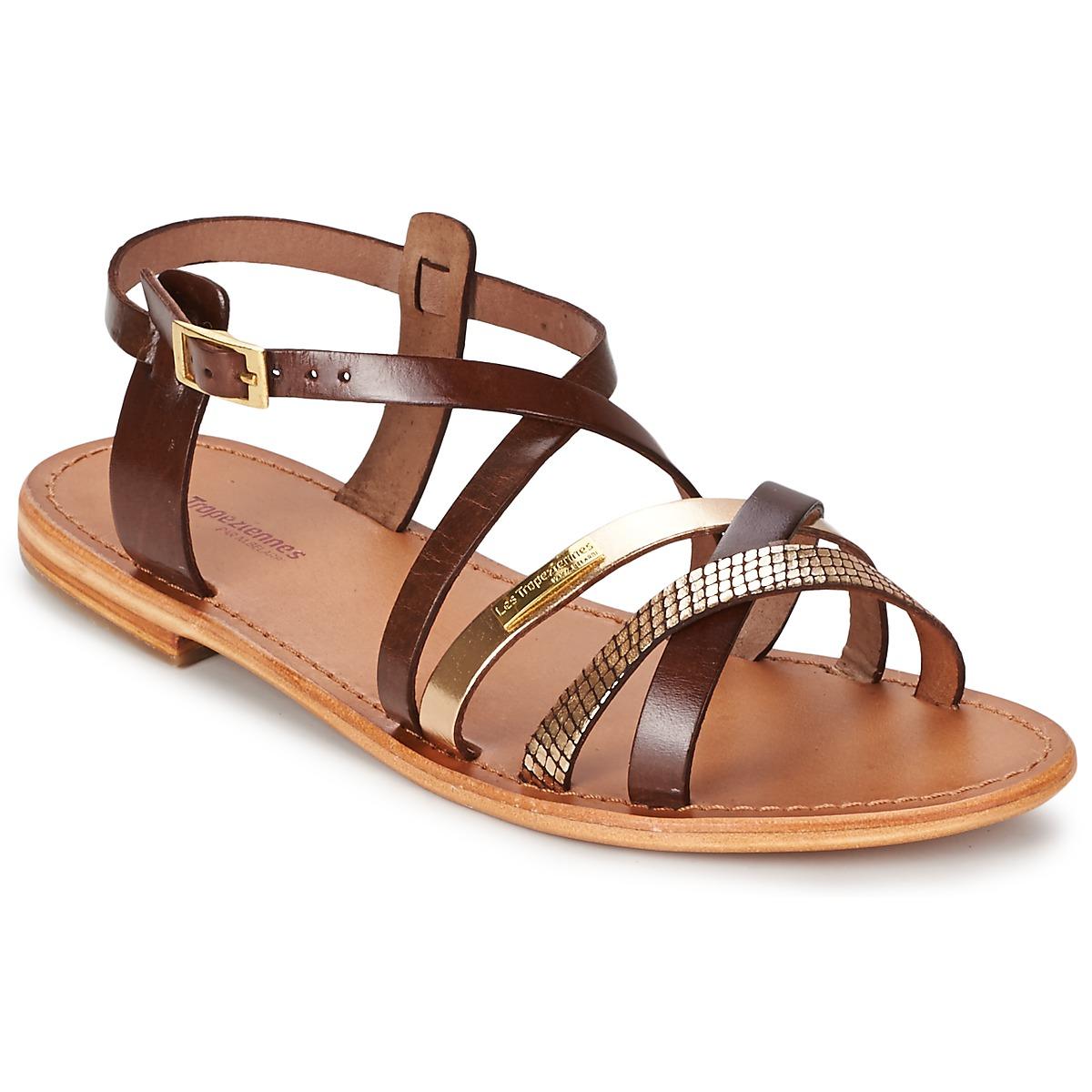 Sandals Les Tropéziennes par M Belarbi HAPAX Brown / GOLD