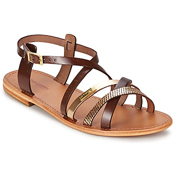 Sandals Les Tropéziennes par M Belarbi HAPAX Brown / GOLD 350x350