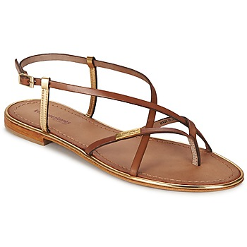 Shoes Women Sandals Les Tropéziennes par M Belarbi MONACO Tan / Gold