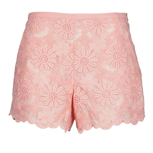 material Women Shorts / Bermudas Manoush AFRICAN SHORT Coral