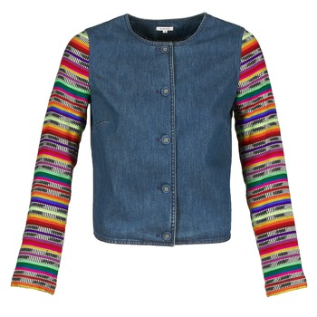 material Women Jackets / Blazers Manoush INDIAN DENIM Blue