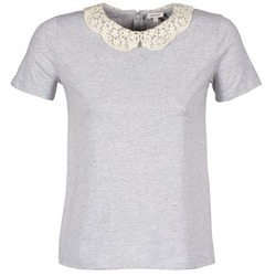 material Women short-sleeved t-shirts Manoush T-SHIRT Grey