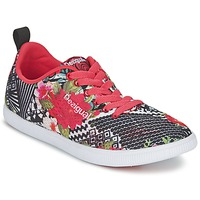 Shoes Women Low top trainers Desigual FUN-EVA Black / Red