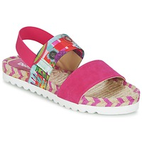 Shoes Women Sandals Desigual FORMENTERA Pink