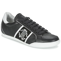 Shoes Men Low top trainers Roberto Cavalli 7779 Black