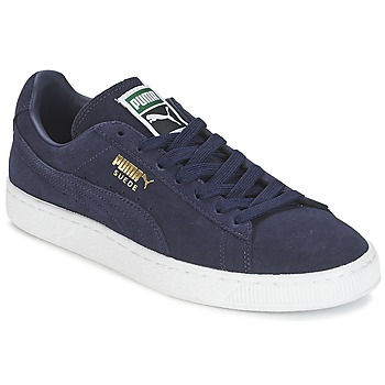 Shoes Men Low top trainers Puma SUEDE CLASSIC + MARINE