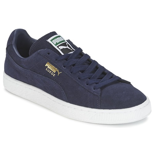 Shoes Low top trainers Puma SUEDE CLASSIC + Marine