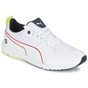 Shoes Men Low top trainers Puma BMW MS PITLANE White / Yellow