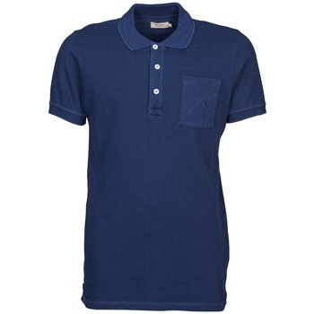material Men short-sleeved polo shirts Kulte DALLE Blue