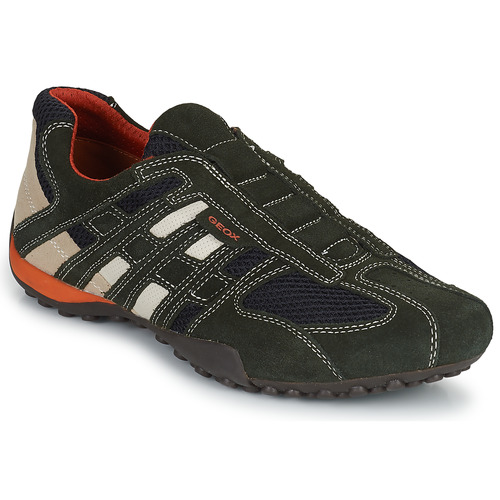 Diálogo Espectador completar  Geox SNAKE Grey - Fast delivery | Spartoo Europe ! - Shoes Low top trainers  Men 99,90 €