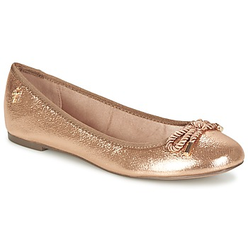 Shoes Women Ballerinas Menbur ZINNA Pink / GOLD