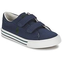 Shoes Children Low top trainers Polo Ralph Lauren HARRISON EZ Blue