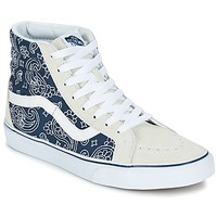 Shoes High top trainers Vans SK8-HI REISSUE Bandana / Blue / White