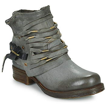 Ankle boots / Boots Airstep / A.S.98 SAINT Black / Smoke 350x350