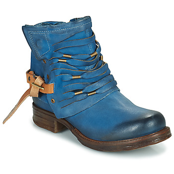 Ankle boots / Boots Airstep / A.S.98 SAINT Blue / Duck 350x350