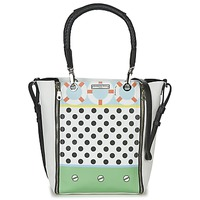 Bags Women Shoulder bags Barbara Rihl CO IN BALI ZIPPER MED White / Multicoloured