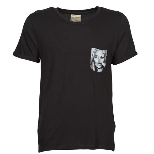 material Men short-sleeved t-shirts Eleven Paris KMPOCK Black