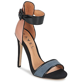 Shoes Women Sandals Ravel Pansy Nude /  BLACK