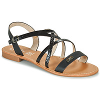 Shoes Women Sandals Les Petites Bombes BIANKA Black