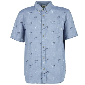 material Men short-sleeved shirts Vans HOUSER SS Blue