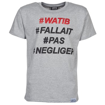 material Men short-sleeved t-shirts Wati B NEGLIGER Grey