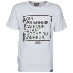 material Men short-sleeved t-shirts Wati B LOIN White