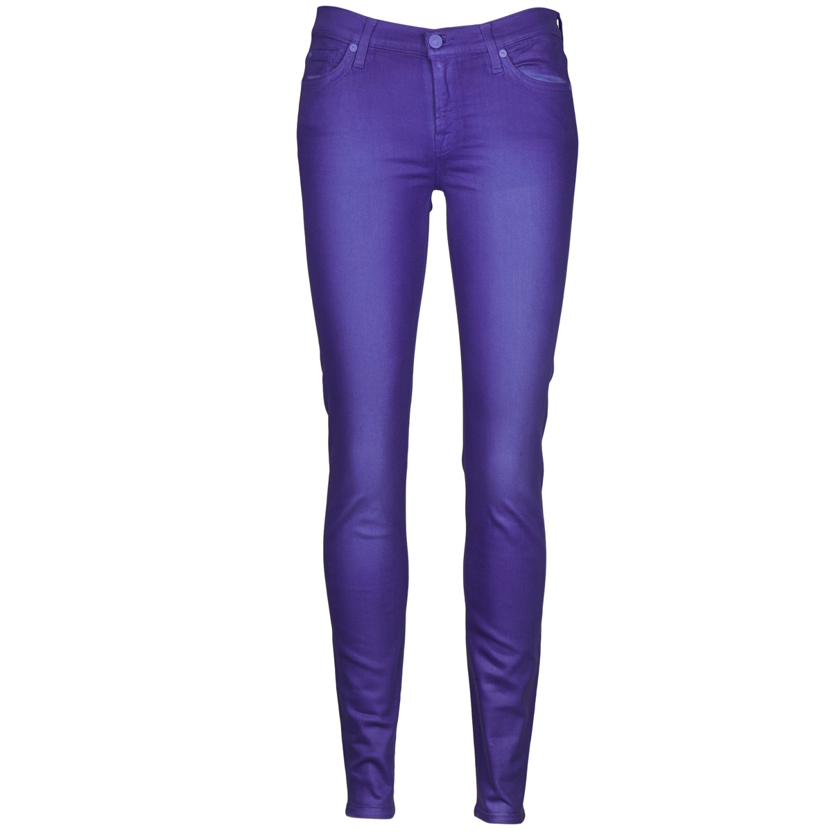 7 for all Mankind THE SKINNY VINE LEAF Blue