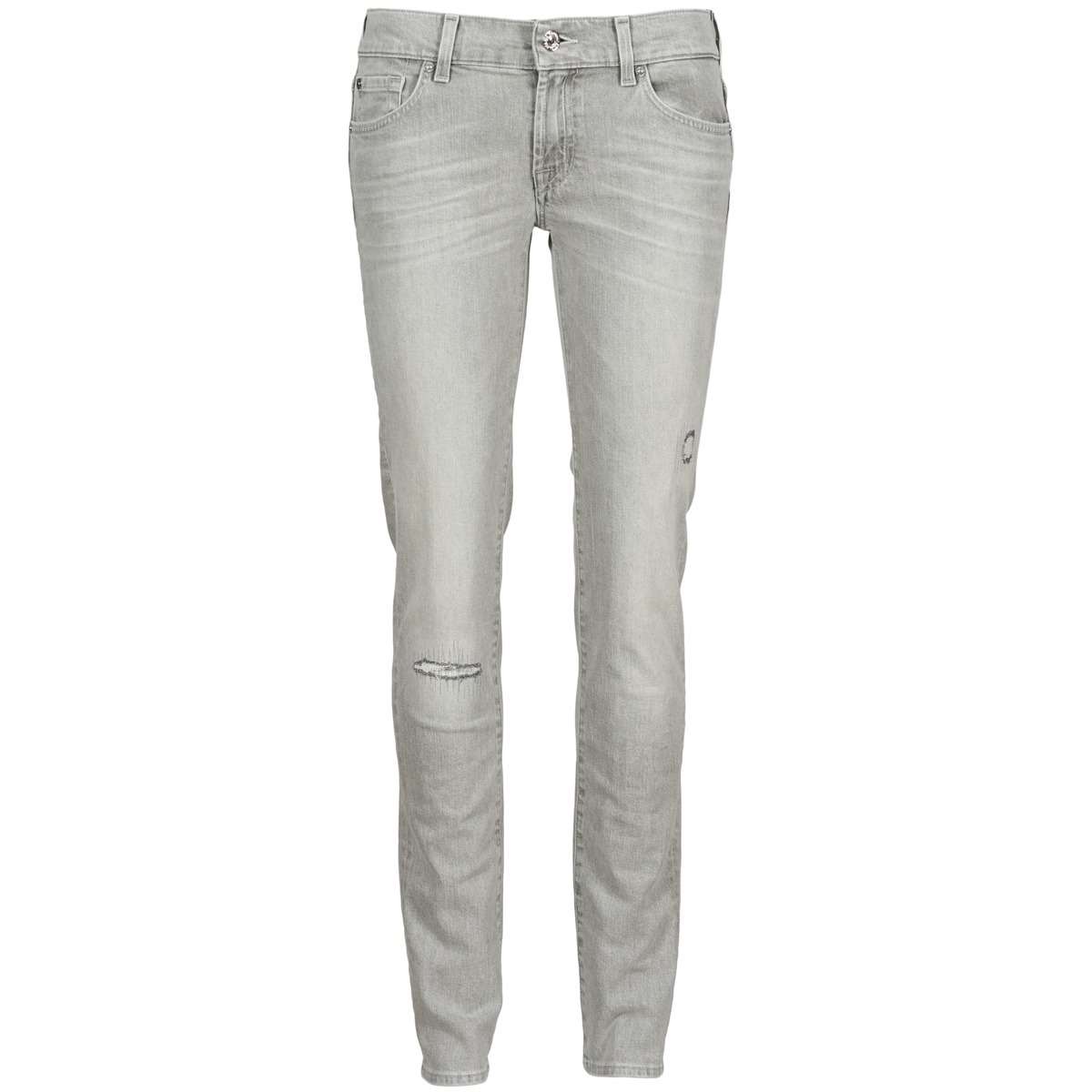7 for all Mankind ROXANNE DESTROYED Grey