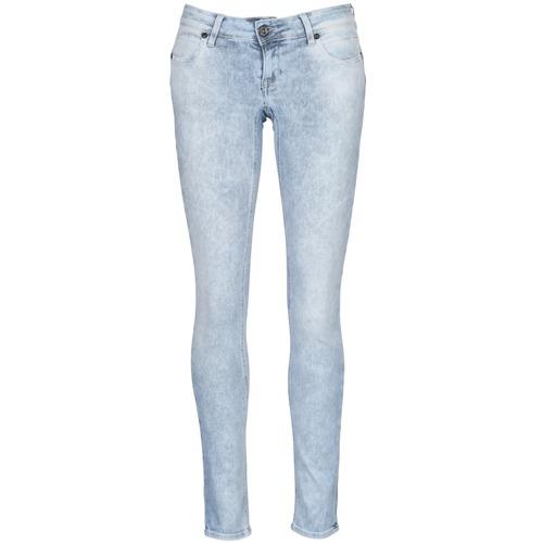 material Women slim jeans Meltin'pot MONIE Black