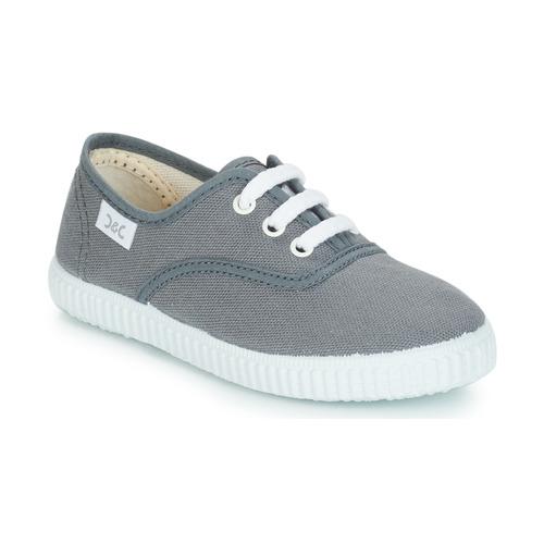 Shoes Children Low top trainers Citrouille et Compagnie KIPPI BOU Grey