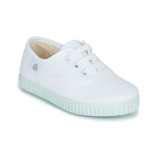 Shoes Children Low top trainers Citrouille et Compagnie KIPPI BOU White