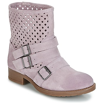 Shoes Women Mid boots Casual Attitude DISNELLE Pink
