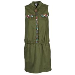 material Women Short Dresses Alba Moda HELDBLUSENKLEID KAKI