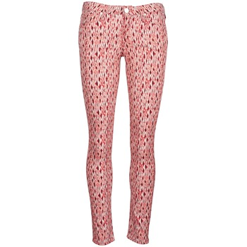 material Women slim jeans Lee SCARLETT Red / Orange